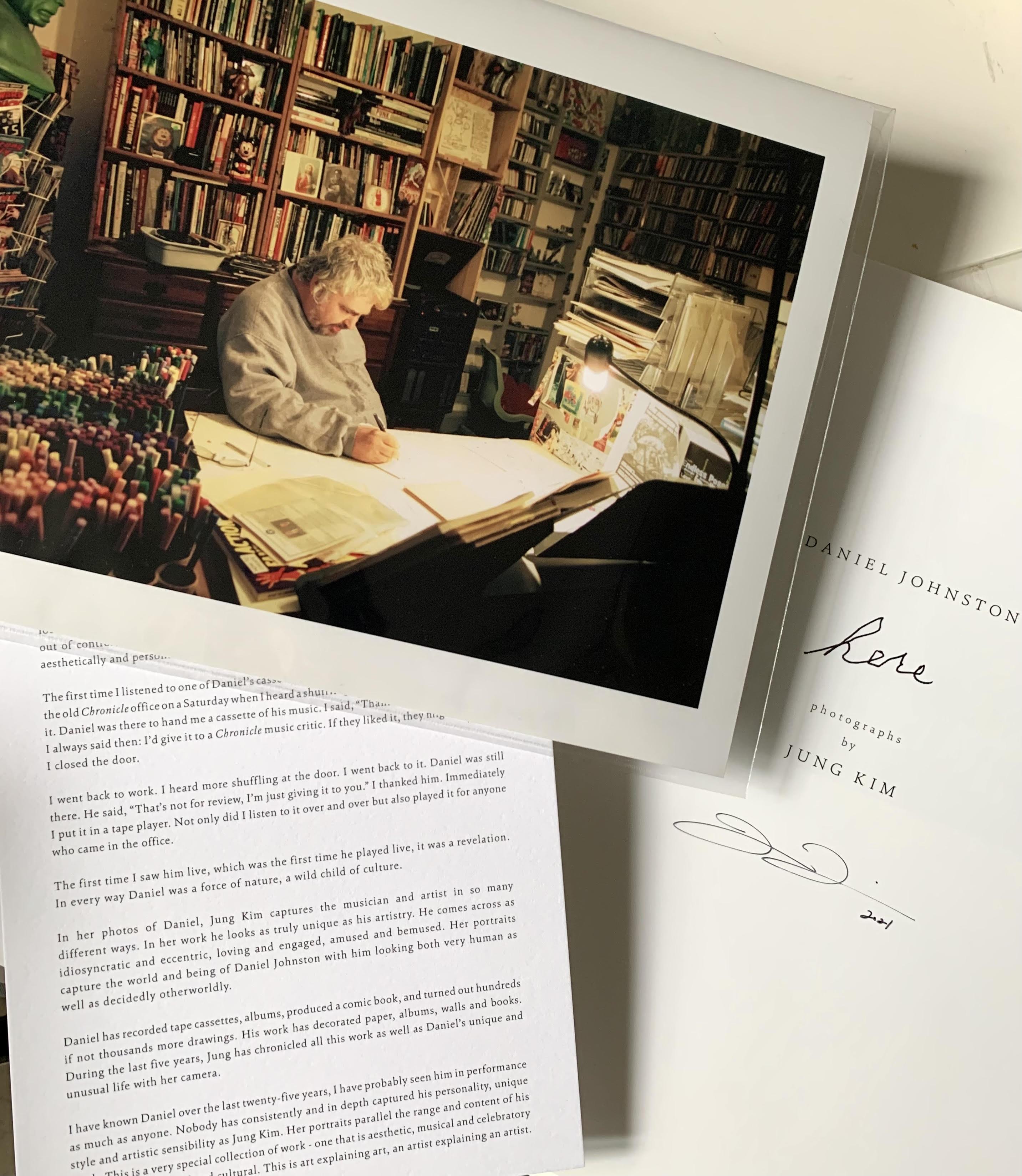 Kim Jung_Daniel Book and Print