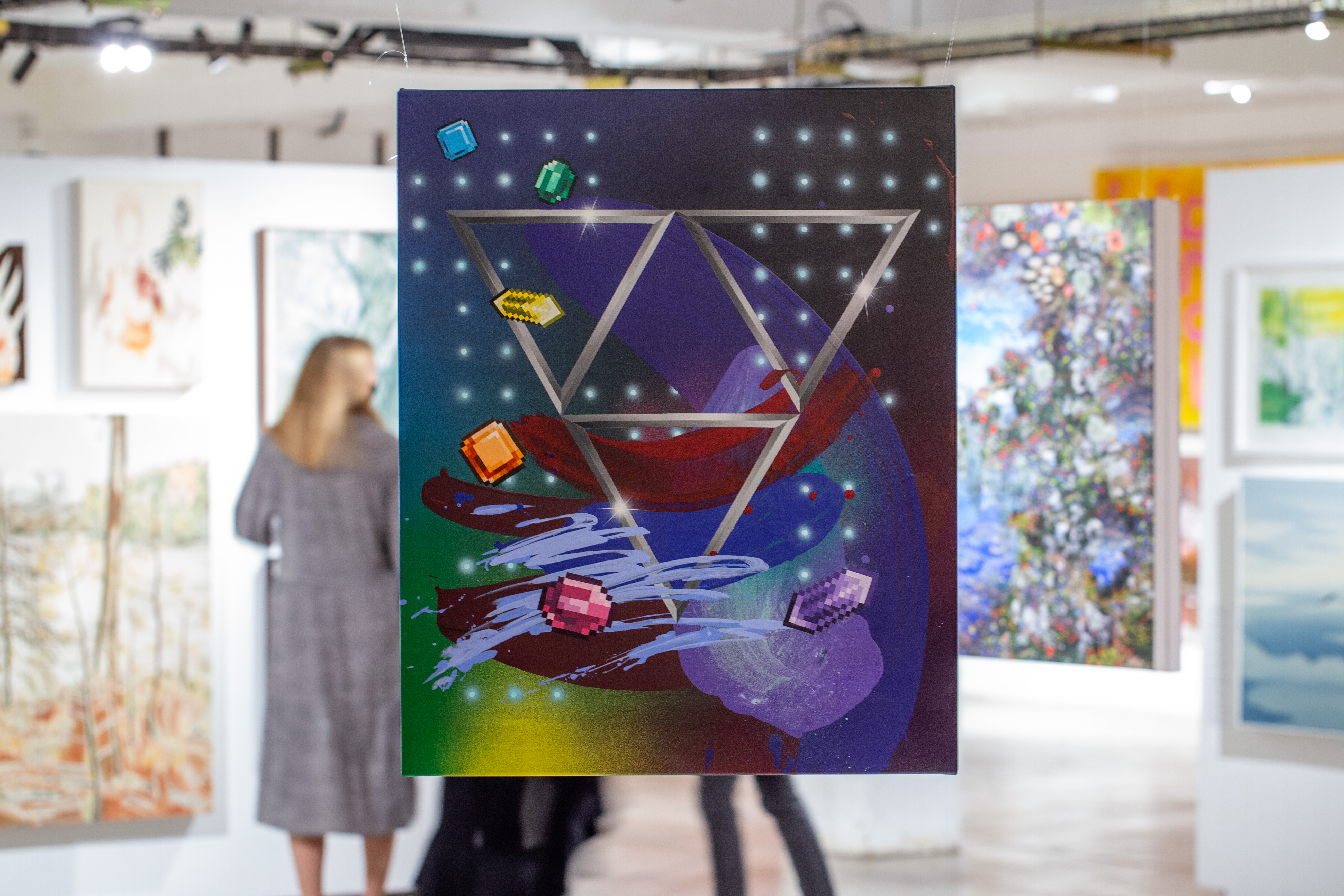 Top 100 Exhibition Install Shot