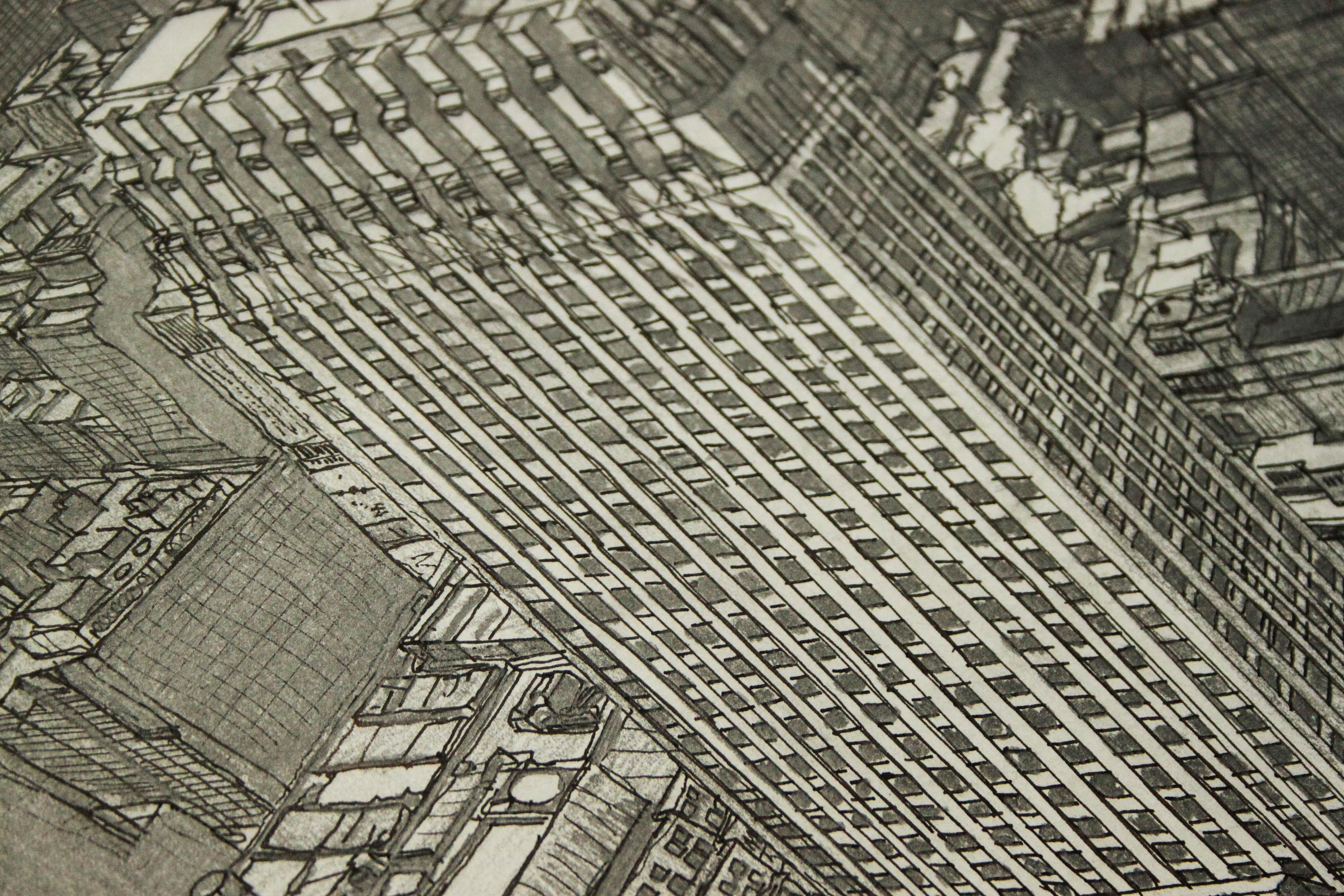David Bassadone New York National Geographic 1930_2021 detail